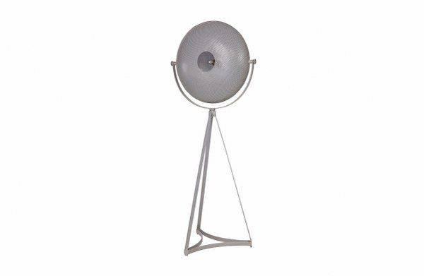 BePureHome vloerlamp Blown metaal grijs