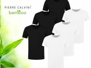 3-Pack Pierre Calvini Bamboe Basic T-Shirts