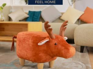 Feel Furniture - Kinder dierenstoel - Eland