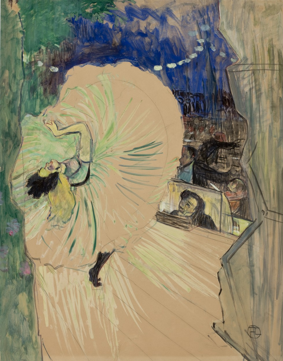 The Wheel by Henri de Toulouse-Lautrec via DailyArt app, your daily dose of art getdailyart.com