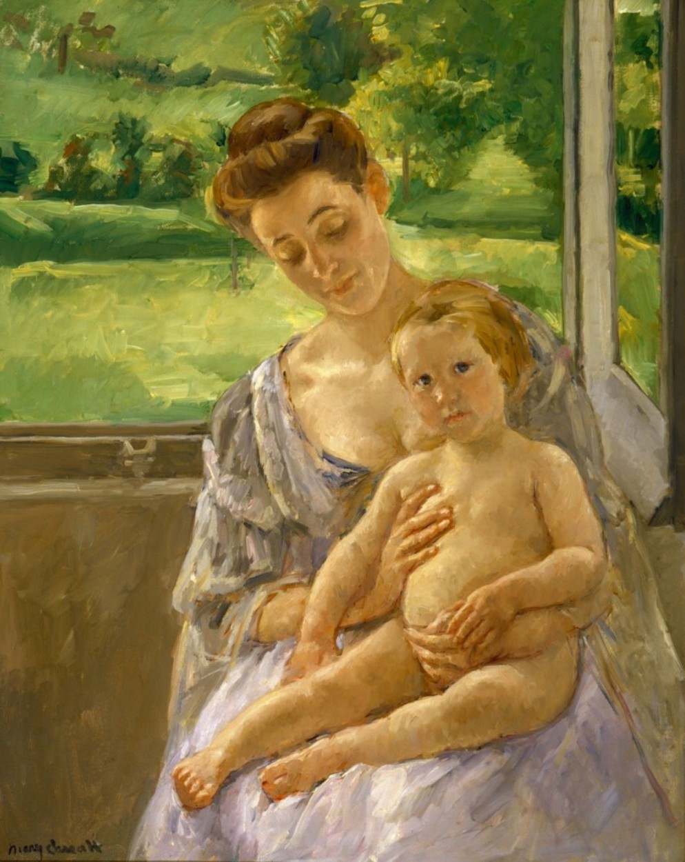 mary cassatt mother and child