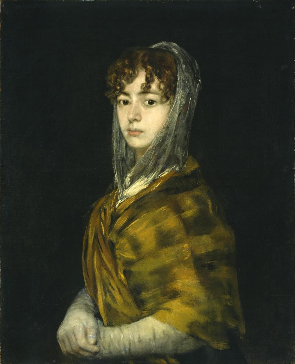 Señora Sabasa Garcia by Francisco Goya via DailyArt app, your daily dose of art getdailyart.com