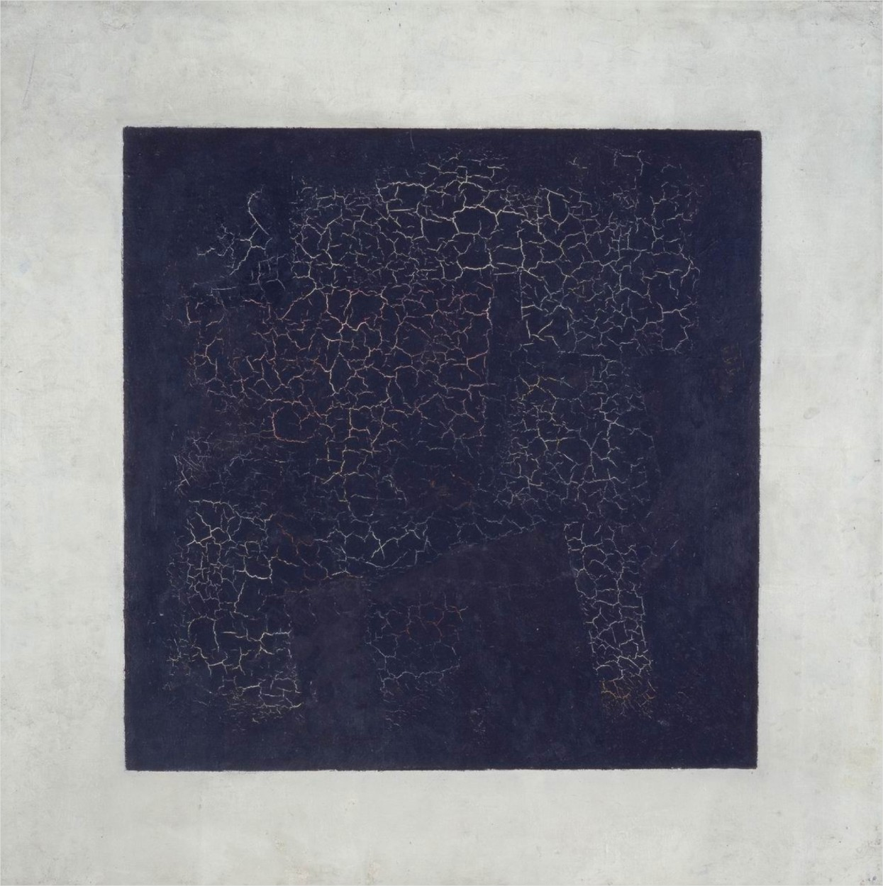 Black Square by Kazimir Malevich via DailyArt app, your daily dose of art getdailyart.com
