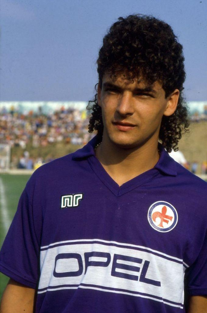 Roberto Baggio nella Fiorentina