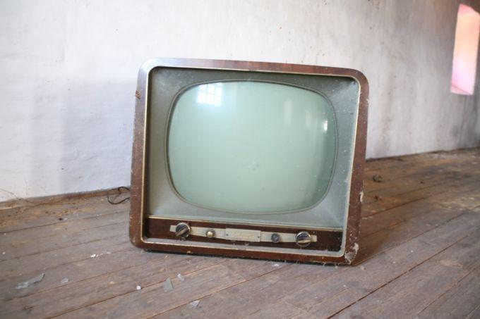 Una vecchia TV, Photo by Rene Asmussen
