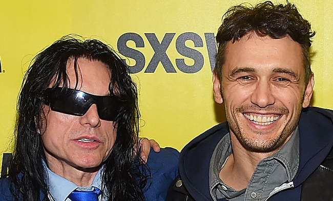 James Franco e il vero Tommy Wiseau al SXSW