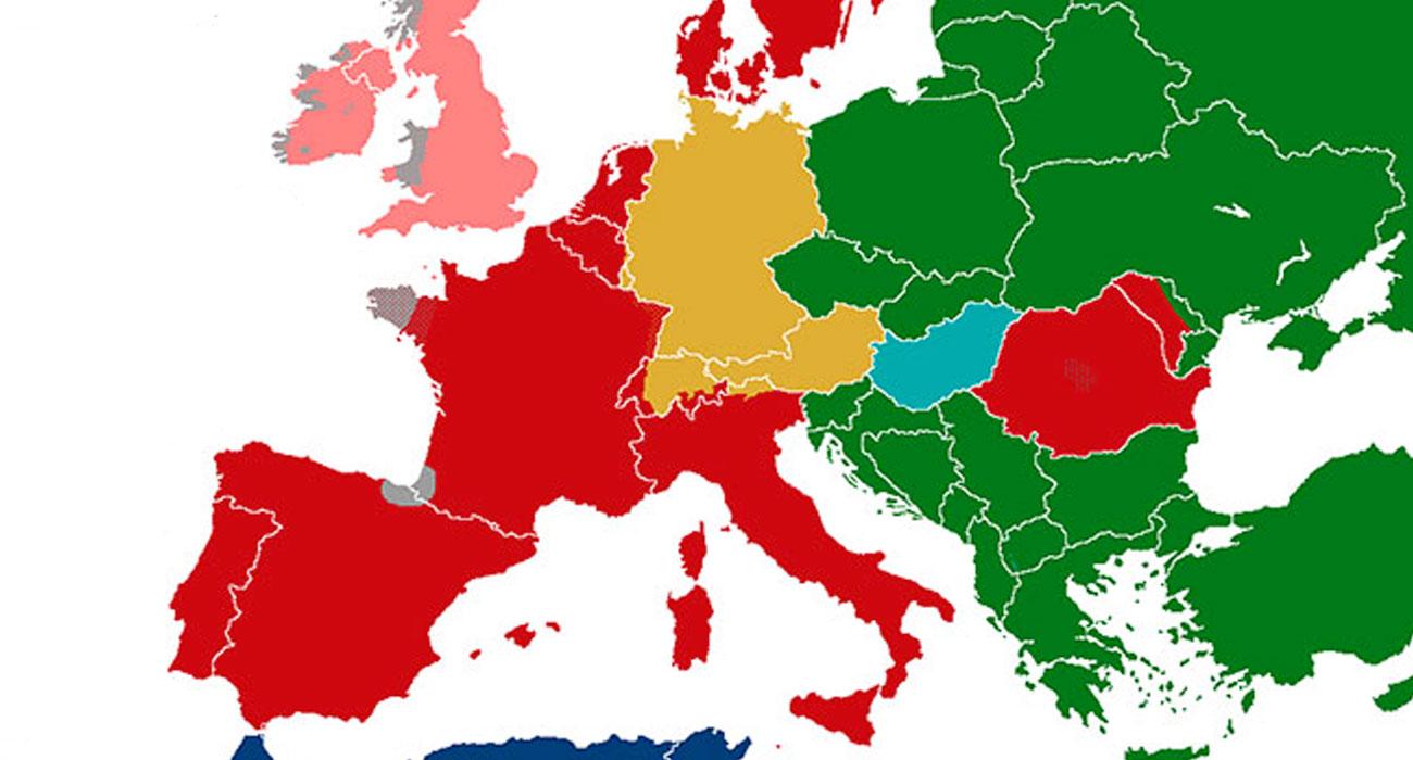 Questa mappa rivela quanto ci vuole per imparare tutte le lingue del mondo