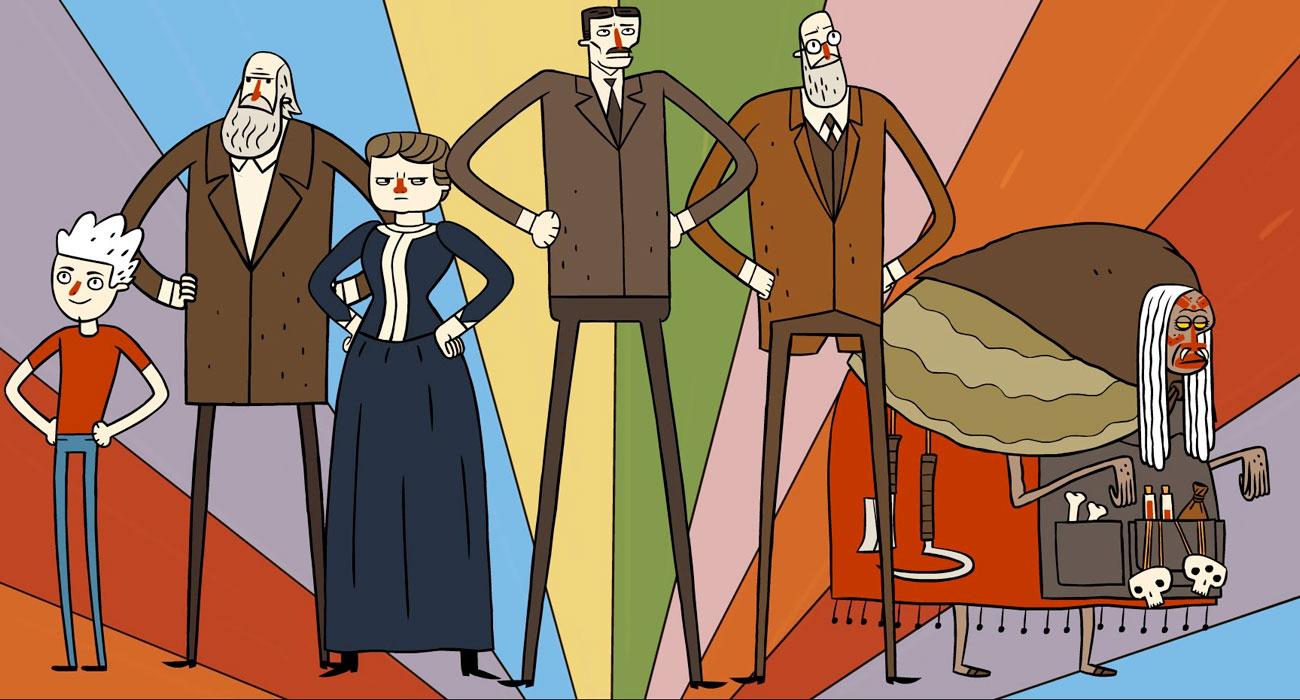 Einstein, Darwin e Marie Curie contro Hitler e il Papa in questo videogame
