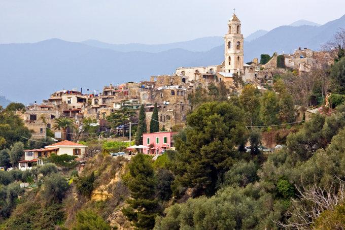 Sanremo, Bussana Vecchia, panorama