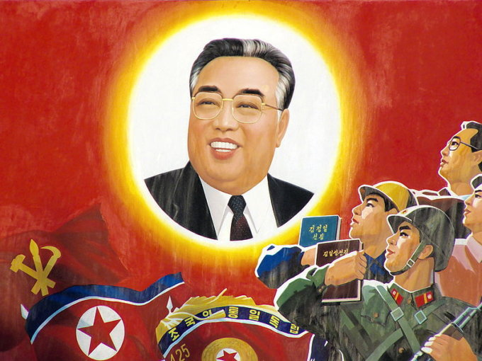 Kim Il-sung attuale presidente della Corea del Nord morto da 24 anni
