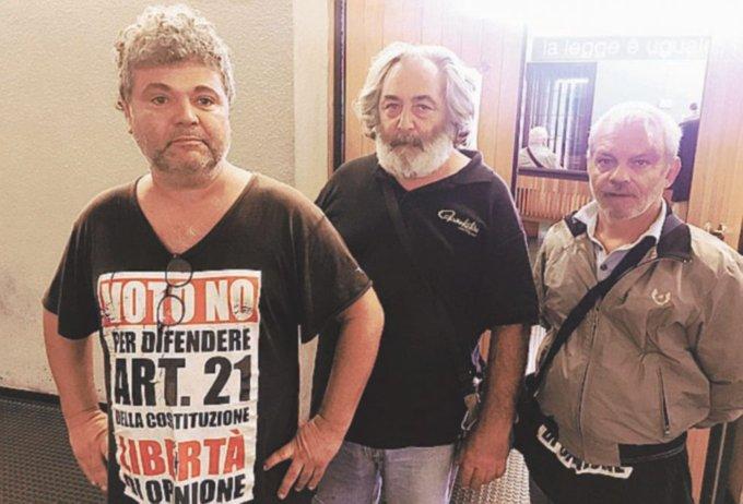 Tre dei cinque cassintegrati Fiat