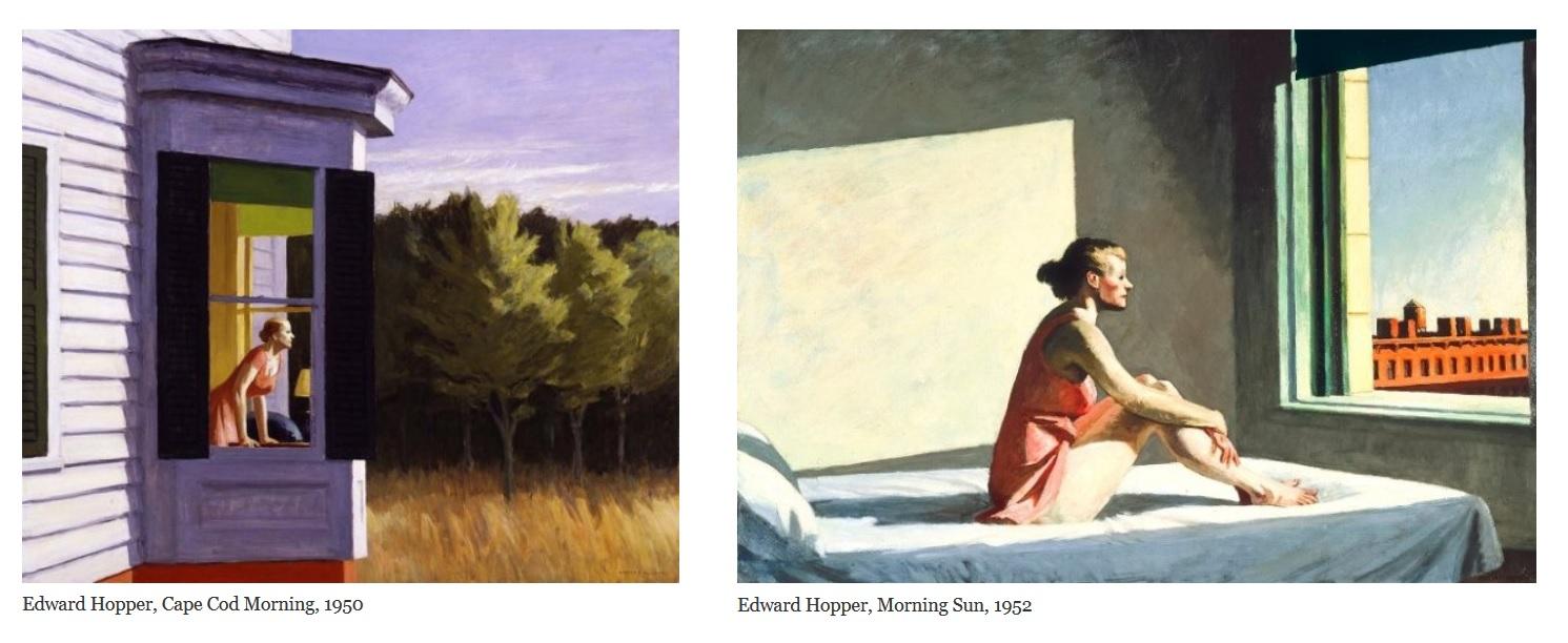 Ritratti Edward Hopper