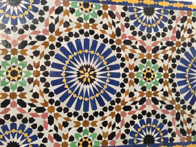 Appunti visivi di un grafico in vacanza: i pattern di Fes, Marocco