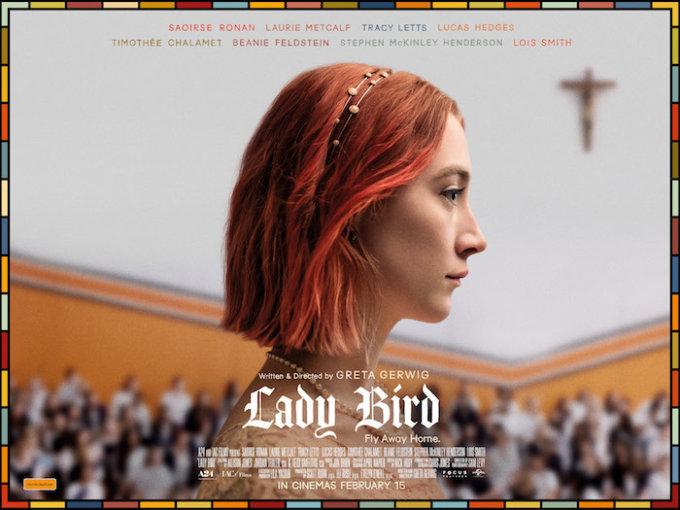 Locandina Lady Bird