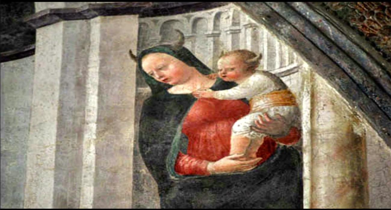 Perchè-Madonna-corna-Cappella-Portinari-Milano