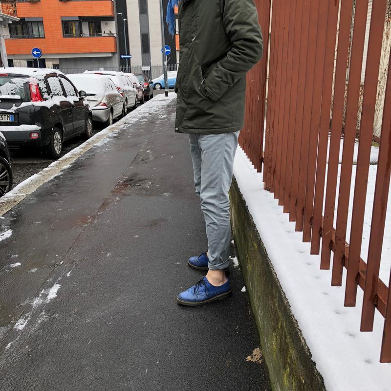 Siamo Usciti Sotto La Neve Coi Risvoltini 1 Dailybest
