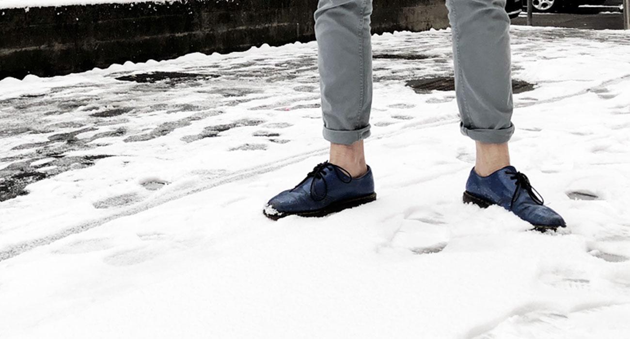 Siamo Usciti Sotto La Neve Coi Risvoltini Per Capire Cosa Provate