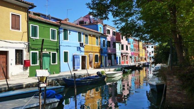 Borgo colorato Burano provincia Venezia paradiso fotografi