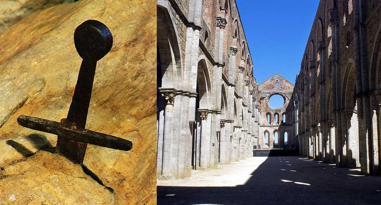 L'Abbazia di San Galgano e la spada nella roccia, luoghi leggendari nel cuore della Toscana