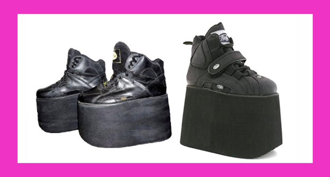 Zeppa Andavate Anni '90 Cui Con Scarpe Negli Ballare A La Le txhrQCsd