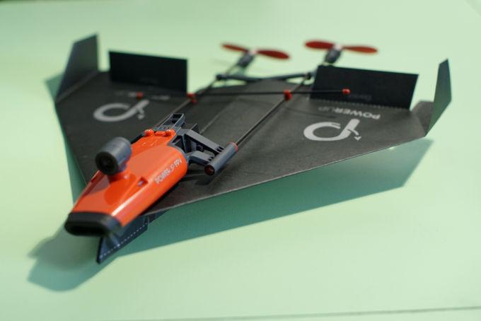 Aeroplano PowerUp FPV pronto