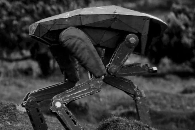 I robot killer di Metalhead (Black Mirror stagione 4)