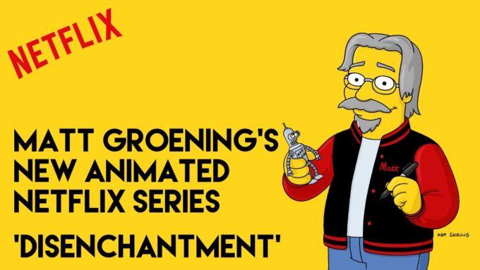 'Disincanto', le prime immagini della nuova serie di Matt Groening