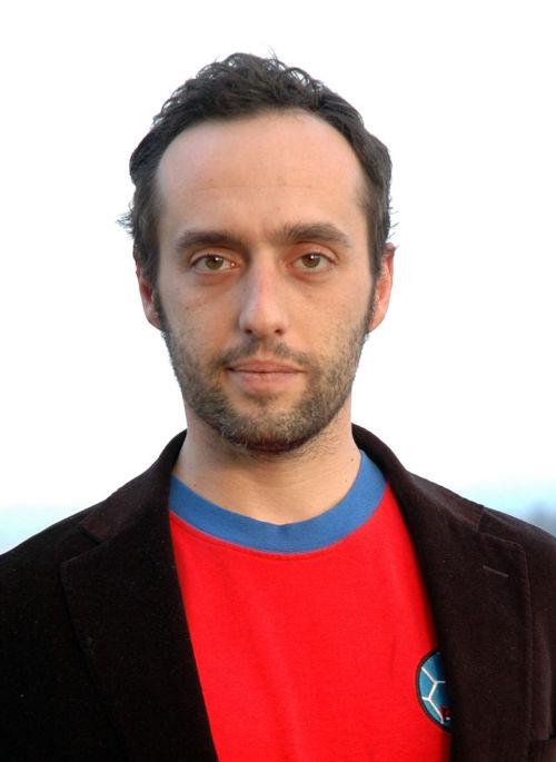 Enrico Brizzi nella foto di Wikipedia