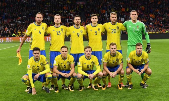 La nazionale svedese