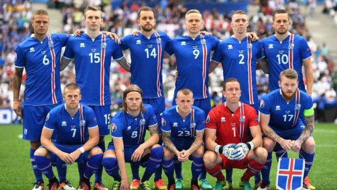 La nazionale islandese