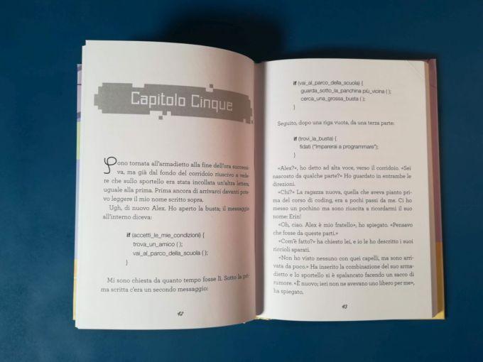 un'amicizia in condice, testo e codice
