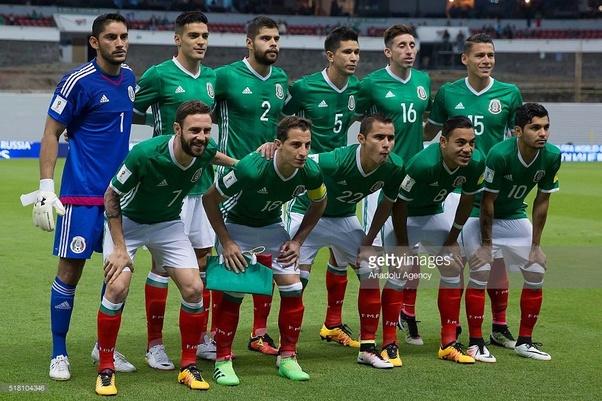 La nazionale messicana