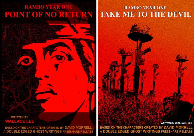 Le copertine dei capitoli tre e quattro della saga di Wallace Lee