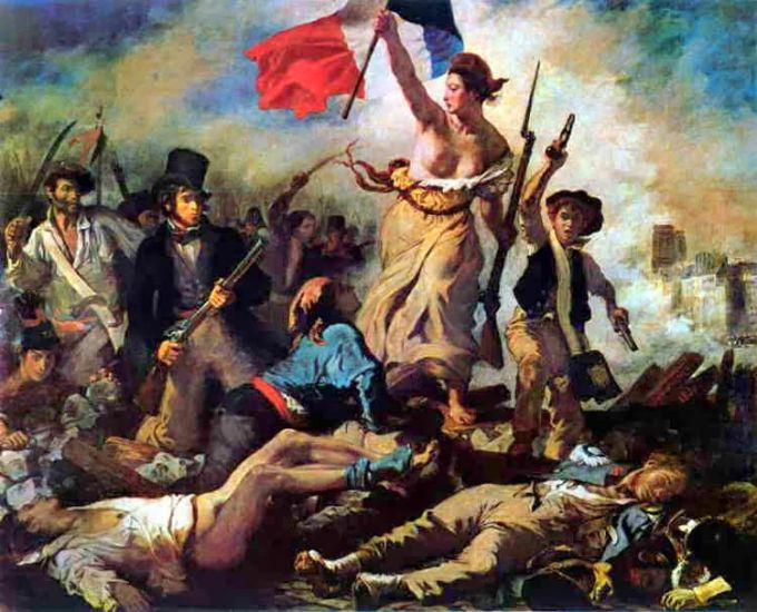 La Libertà che guida il popolo – Eugene Delacroix