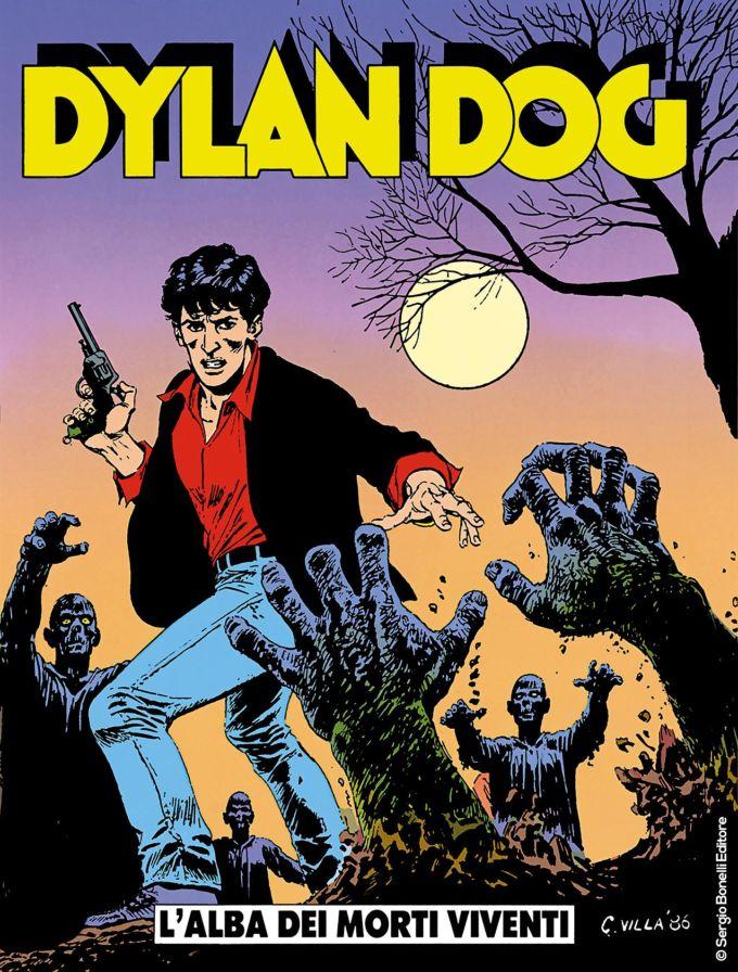 La copertina del primo numero di Dylan Dog, a 499 Euro su Ebay!
