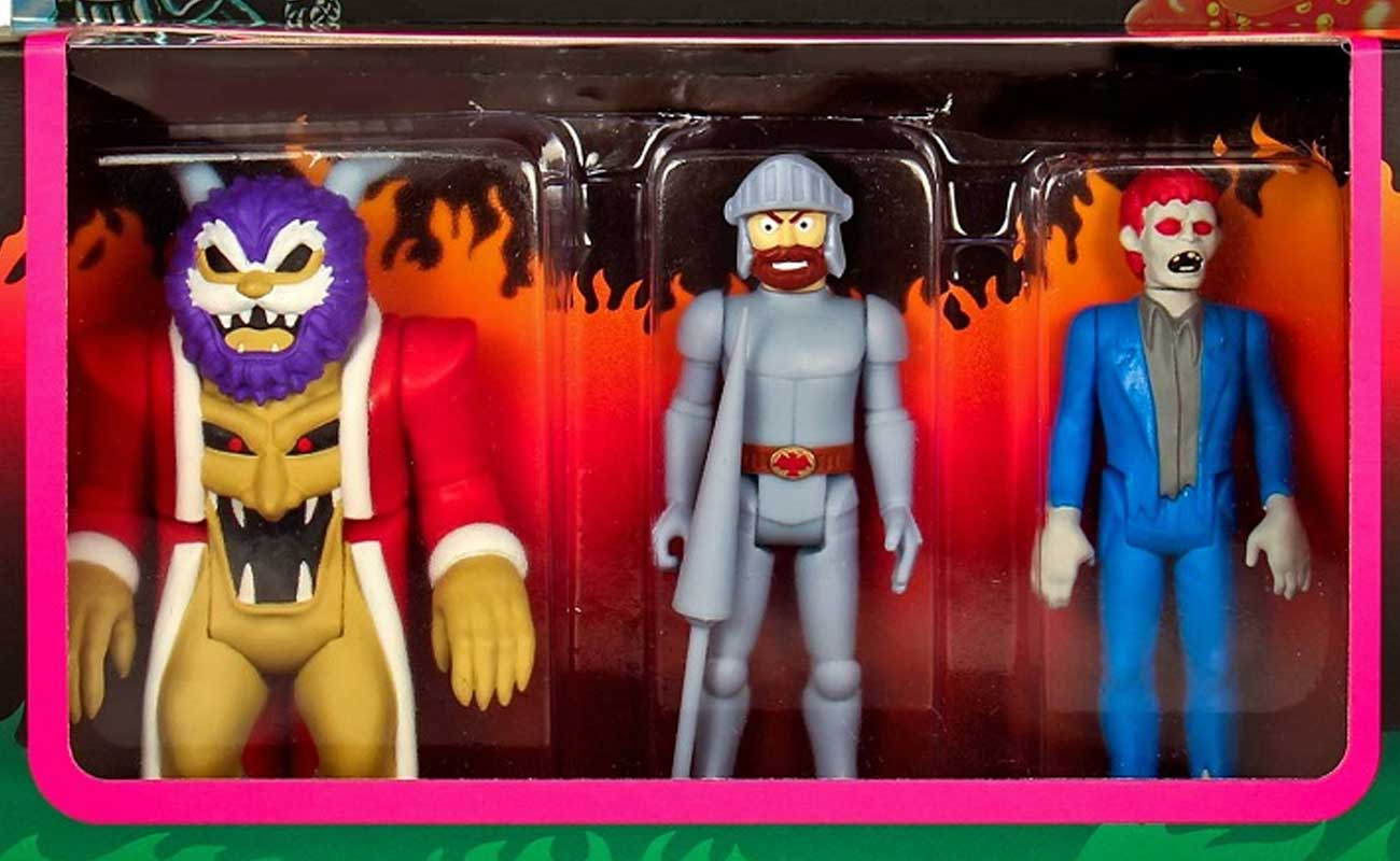 Le action figure di Ghost 'n Goblins sono bellissime