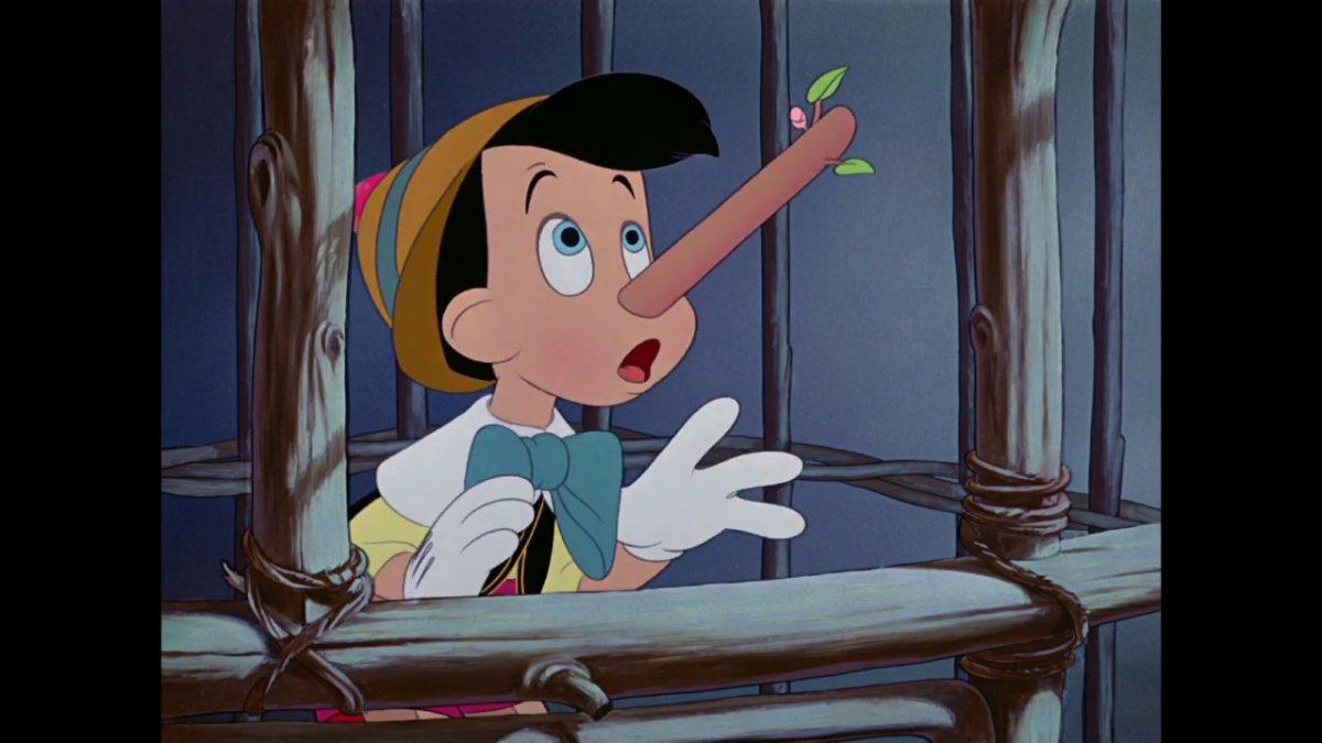 Pinocchio aveva torto: per la scienza, quando dici le bugie il naso si accorcia