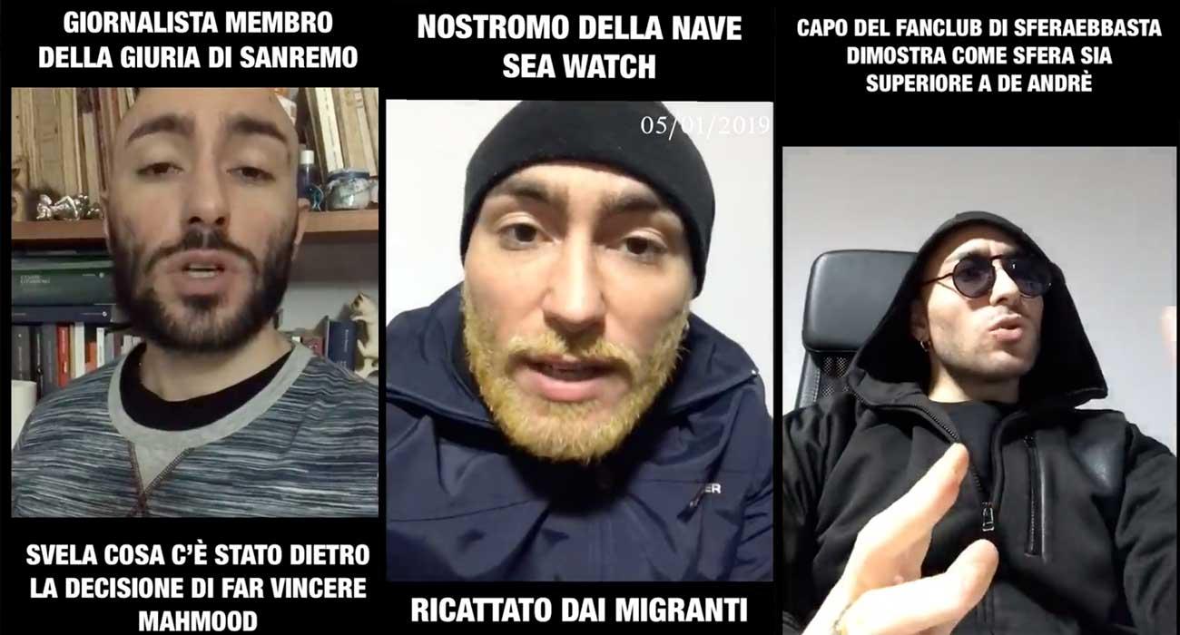 Non credete ai video di Gian Marco Saolini, per cortesia