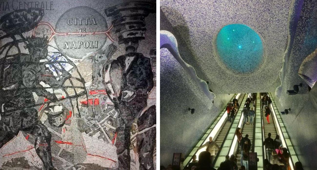 A Napoli la fermata Toledo della metropolitana incanta tutti