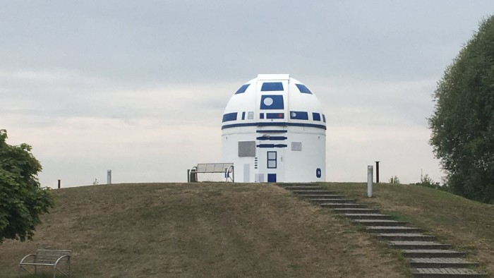 Un osservatorio è stato trasformato in R2-D2 di Star Wars