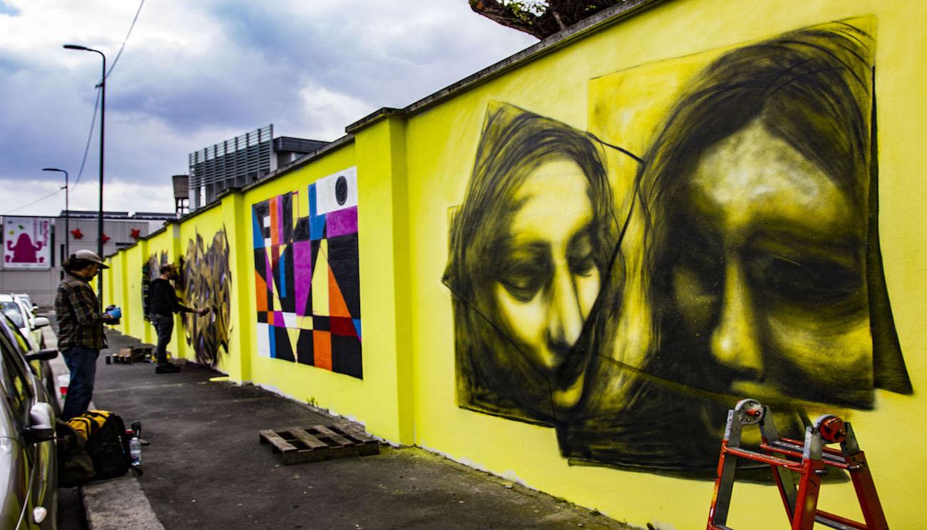 Il Politecnico di Milano si colora per il POLI URBAN COLORS