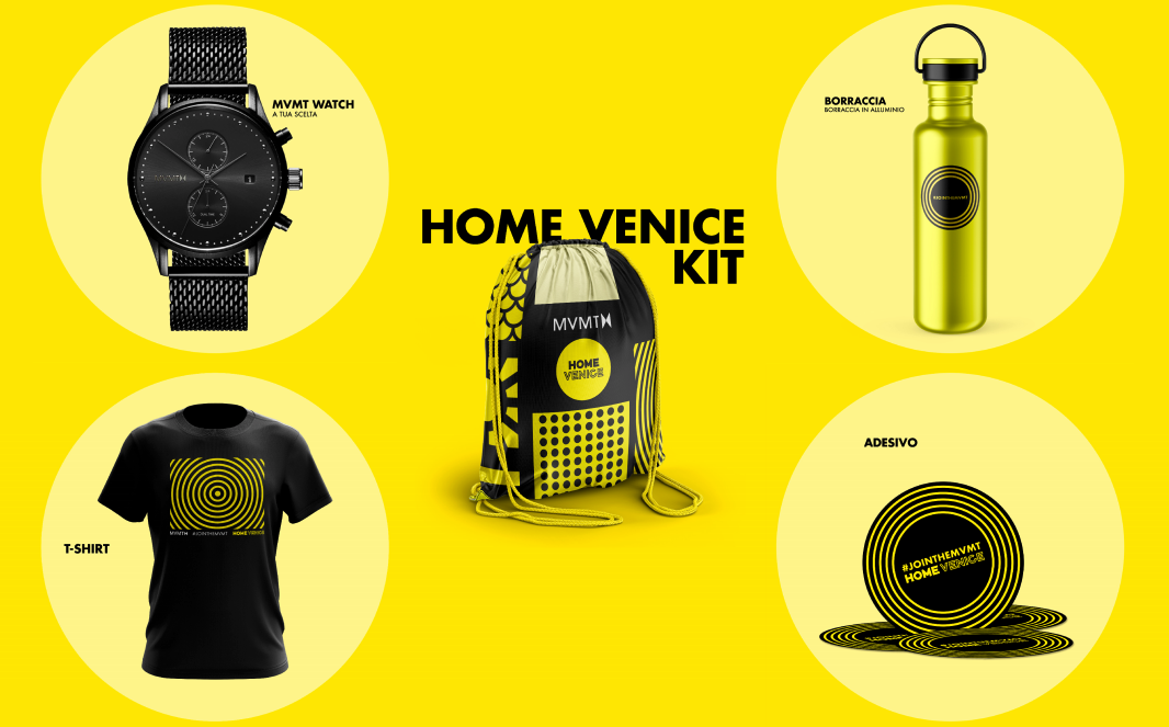 MVMT Watch presenta l'Home Venice Kit, la bag perfetta per il festival