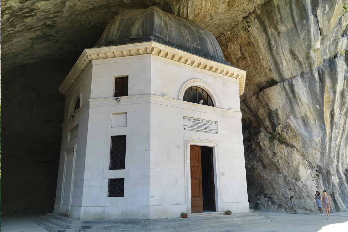 Il tempio nella roccia