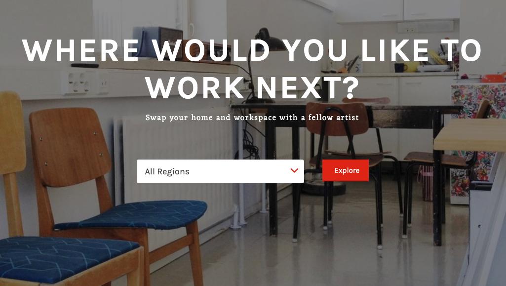 Trova la tua residenza d'artista in tutto il mondo grazie a questo sito