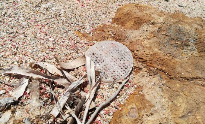 """Un dischetto disperso dal depuratore di Capaccio (SA), l'incredibile storia di questa plastica nel libro """"Atlante mondiale della zuppa di plastica"""""""