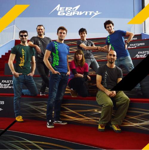Gli istruttori di Aero Gravity