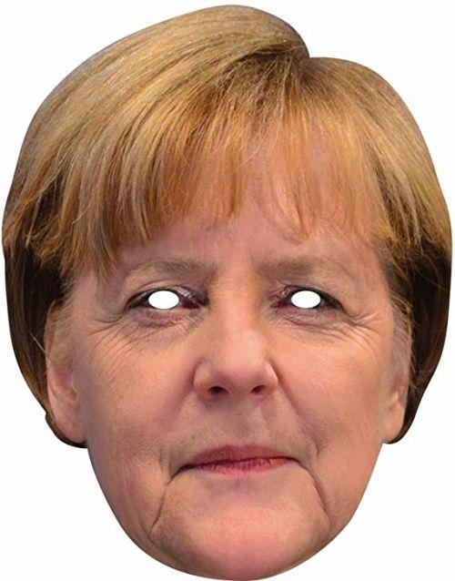 Merkel maschera