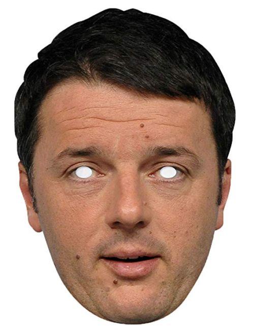 Matteo Renzi maschera