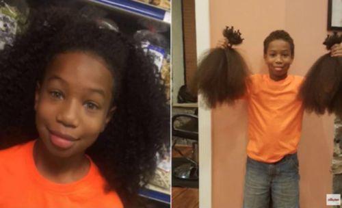 Donazione di capelli