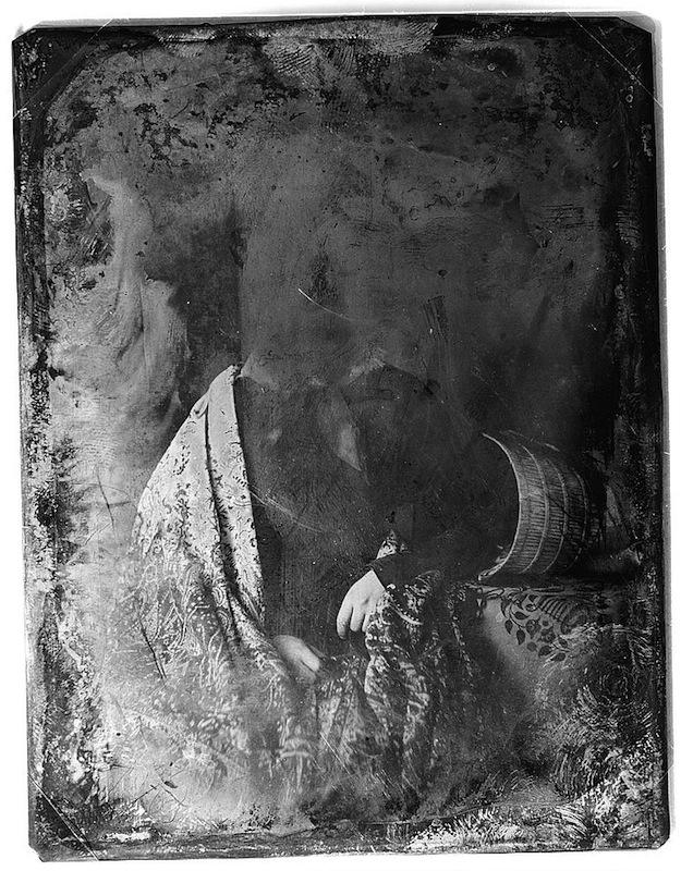 Ritratto di una attrice di teatro non identificata (fra il 1844 e il 1860)
